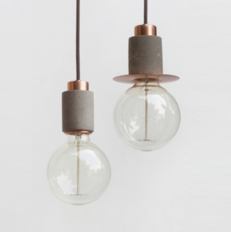 CL20-CL30-pendant-light-minimal-LED-spotlight-aluminium-brass-copper-concrete-white-black-cement-handmade-alentes